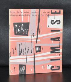 Revue de l'art Actuel # CIMAISE 7, Koenig # Juin 1954, nm+