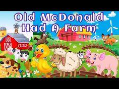 Old MacDonald Had a Farm - Songs For Kids | Kids Songs & Nursery Rhymes
