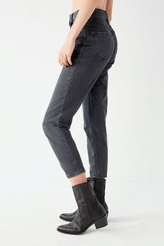 BDG Mom Jean - Black