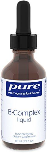 Pure Encapsulations  BComplex liquid  Hypoallergenic Supplement to Support Energy Metabolism and Nervous System Function  116 ml *** Check out the image by visiting the link.