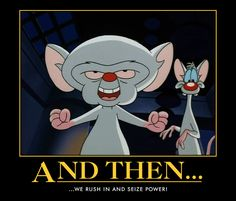10 Best Pinky And The Brain Images The Brain Drawings Caricatures