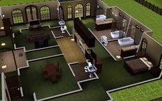 Mod the sims blueprint maker updated 06012013 sims the sims 3 home building and design malvernweather Image collections