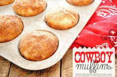 Cowboy Muffins {for cowgirls and cowpokes, too}.