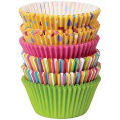 Wilton Dots And Stripes Cupcake Cases 150 Pack   Hobbycraft