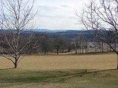 Pasture area on 45 acre Northampton County, PA farm for sale
