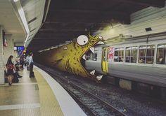 Illustrations : Dessins de monstres dans la vraie vie