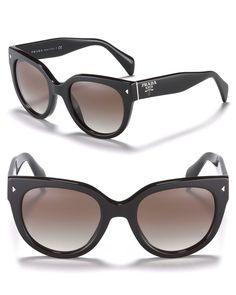 f482cd7c8edc Prada Women s Timeless Heritage Rounded Wayfarer Sunglasses
