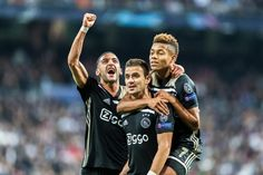 8 x waarom #AJAX #Msterdam wint van #Juventus, omdat… Photocredits: Orange Pictures. #Hakim #Ziyech, #Dušan #Tadić en #David #Neres Edgar Davids, Football Pictures, Man United, Cristiano Ronaldo, The Man, Soccer, Running, Arsenal, Sports