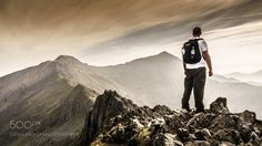 Welsh Language, Snowdonia National Park, Sea Level, Mountaineering, High Point, Grade 1, Crib, Wales, Climbing