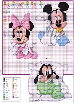disney cross stitch patterns Website not English... But heaps pattern squares...