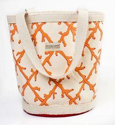 Coral Lattice Bag