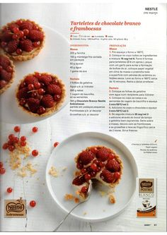Revista bimby 2015 março by Ricardo Fernandes - issuu Gluten Free Recipes, Healthy Recipes, Secret Recipe, Chocolate, Coffee Break, Free Food, Make It Simple, Dairy Free, Raspberry