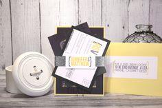 "Modern Wedding Invitation Set – Urban Wedding Invitations – Custom Wedding Invites– Gray and Yellow Wedding Invite – ""Urban Gem"" Deposit Yellow Wedding Invitations, Invites, Rustic Wedding, Gem, Unique Jewelry, Handmade Gifts, Urban, Vintage Modern, Etsy"