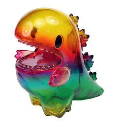The Rainbow Dino By Mark Nagata x Ziqi | The Toy Chronicle