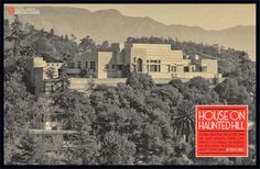 Ennis House California | The Ennis House was also used in the 1959 movie House on Haunted Hill.