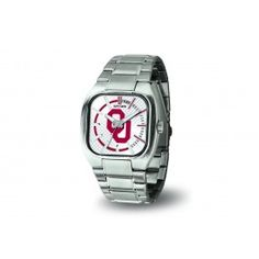 Oklahoma OU Sooners Turbo Mens Wrist Watch