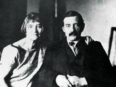 Suzanne Valadon e Maurice Utrillo 1930 circa © Diritti Riservati