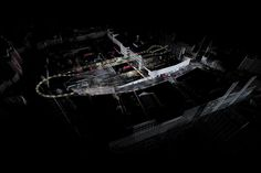 Laser technique captures aerial view of the Mail Rail network abandoned in 2003, strewn with workers' personal items #newscientist #lasers #trains