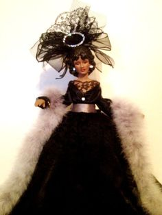 African American Handcrafed Doll  The Church by Divineangelshop, $54.99