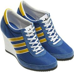 Sneaker Heels, Wedge Sneakers, Wedge Shoes, Unique Shoes, Cute Shoes, Nike Heels, Adidas Shoes, Basket Style, Baskets