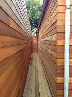 Visit our inspirational timber cladding gallery, with extensive pictures of real domestic and commercial projects using our cedar, Siberian larch and Thermowood exterior cladding. House Cladding, Timber Cladding, Exterior Cladding, Western Red Cedar Cladding, Wood Siding, Home Remodeling, Facade, Backyard, Feather