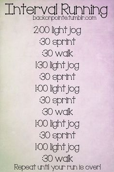 This is actually a good running/interval plan.  Even if you are a new runner, this is very doable and scorches the calories!