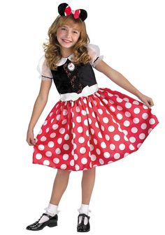 Minnie Mouse Costume Dress Up Play Time Red Minnie Costume Halloween Minnie Mouse Halloween Costume, Halloween Costumes For Kids, Halloween Cosplay, Halloween Costunes, Trendy Halloween, Toddler Halloween, Halloween Pictures, Toddler Costumes, Girl Costumes