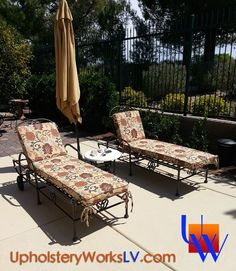 I love this Boho Paisley pattern our client picked out for her outdoor furniture. Beat the summer rush and be ready for your guests. Dirty worn patio furniture isn't trendy this year :) Submit your pics on our website for a FREE quote today. www.UpholsteryWorksLV.com #UpholsteryWorks #Upholstery #Lasvegas #patiofurniture #furniture #diy #boho #paisley