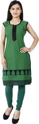Sukuma Casual, Formal, Festive Sleeveless Printed Women's Kurti - Buy Green Sukuma Casual, Formal, Festive Sleeveless Printed Women's Kurti Online at Best Prices in India | Flipkart.com