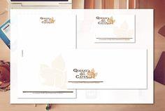 Aplicación de marca en papelería y tarjeta corporativa