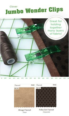 New! Jumbo Wonder Clips » Notions - The Connecting Threads Quilt Blog