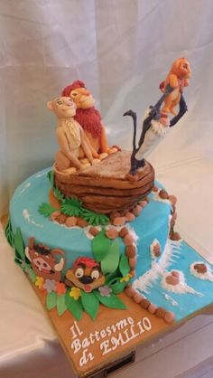 The Lion King's cake by BakeryLab