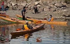 Stitch and Glue Wooden Kayaks