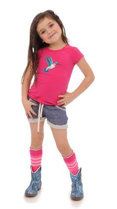 SS T-Shirt Tape Met zelf te kiezen opdruk - Brand for Girls