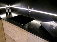 cucina ciliegio piano nero - Cerca con Google | 1 raissa-baie ...