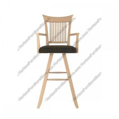 Canadel Custom Dining Swivel Bar Stool with Arms - STO 0270