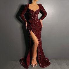 Sequin Prom Dresses, Glam Dresses, Prom Party Dresses, Sequin Dress, Elegant Dresses, Beautiful Dresses, Bridal Dresses, Gown Dress, Kaftan Dubai