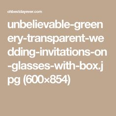 unbelievable-greenery-transparent-wedding-invitations-on-glasses-with-box.jpg (600×854)