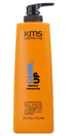 KMS California Curl Up Curl Enhancing Shampoo 25.3 oz / 750 ml curlup permed #KMSCalifornia