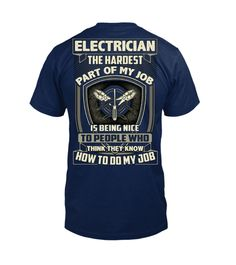 af0380e6e 60 Best electrician t shirts images in 2018 | Christmas Gift Ideas ...