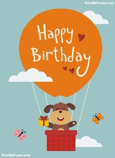 28 best happy birthday posters images on pinterest