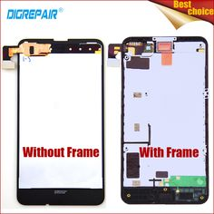 Best Price 100% Tested Black For Nokia Lumia 630 635 LCD Display Touch Screen Digitizer Glass Panel Assembly Repair Replacement Parts+Frame .....Click Link To Check Price