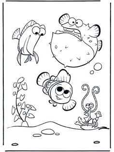 A is for aquarium! [coloring page] TONS of Kids & Bible Coloring Pages & Crafts on this site