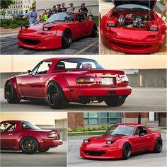 Mazda Miata with a K20 swap #WideBody
