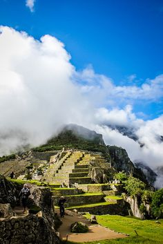 Machu Picchu- I visited this today!
