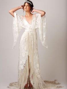 Boho Wedding Cupcakes Bridesmaid Dresses fabulous and freakily addictive fringe dresses fringe wedding dress boho gypsy and boho Fringe Wedding Dress, Fringe Dress, Boho Dress, Gypsy Wedding Dresses, Vintage Boho Wedding Dress, Dress Lace, Wrap Wedding Dress, Gown Wedding, Gypsy Dresses