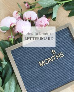 DIY Letterboard, Create your own Letterboard DIY, Letter board
