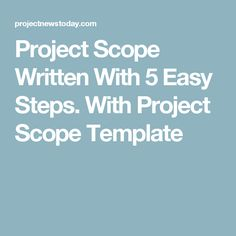 The Key To Stopping Scope Creep  Inspiration    Scope