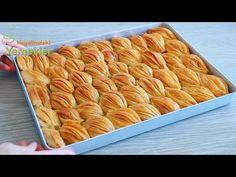 El Açması Çıtır Çıtır Mekik Baklava Tarifi | Enfes Tarifler Turkish Recipes, Waffles, Cookies, Eat, Breakfast, Desserts, Food, Youtube, Sweets