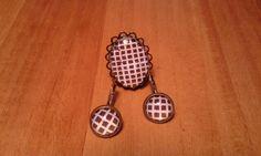 handmade earrings and ring